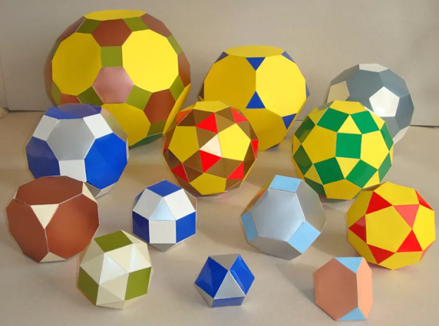 модели многогранников