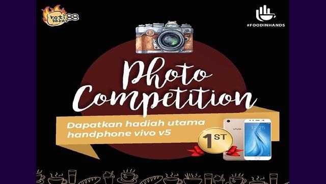 Lomba Foto Rotibakar88 x Foodinhands Berhadiah Smartphone Vivo V5