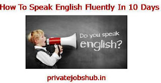 How To Speak English Fluently In 10 Days