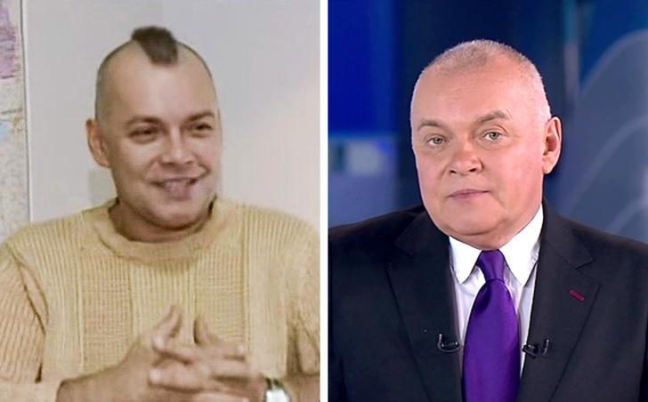 Российские Телеведущие в Молодости и Сейчас