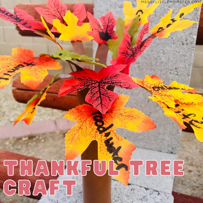 Thankful tree craft