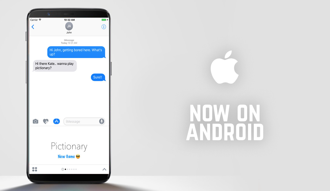 iMessage Now on Android - JoblessFreaks