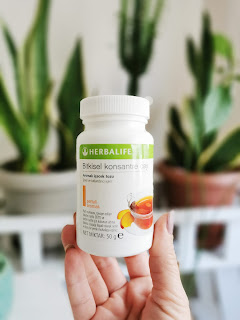 -Herbalife Bitkisel Konsantre Çay - Şeftali Aromalı