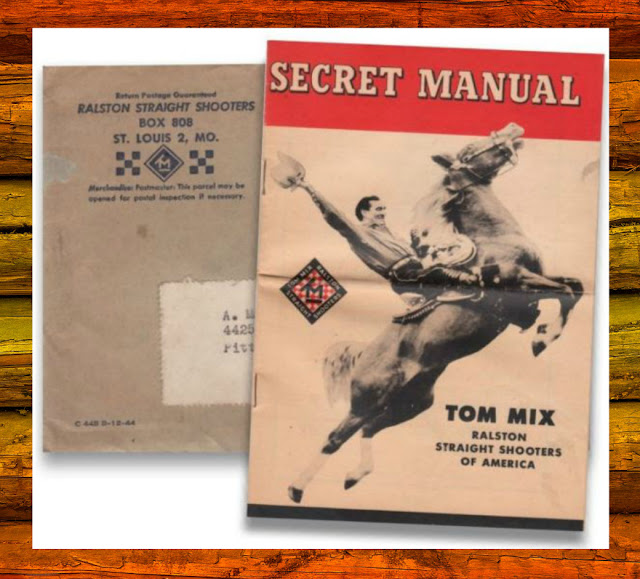 Tom Mix Secret Manual