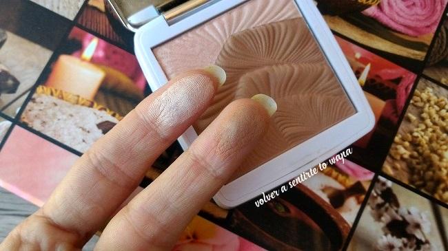 DELIPLUS | Mercadona Polvo Facial Dúo Broncer + Iluminador - Swatches