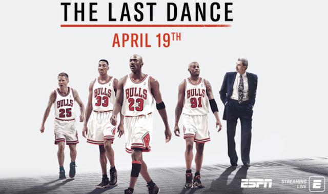 The Last Dance Michael Jordan Documentary on ESPN