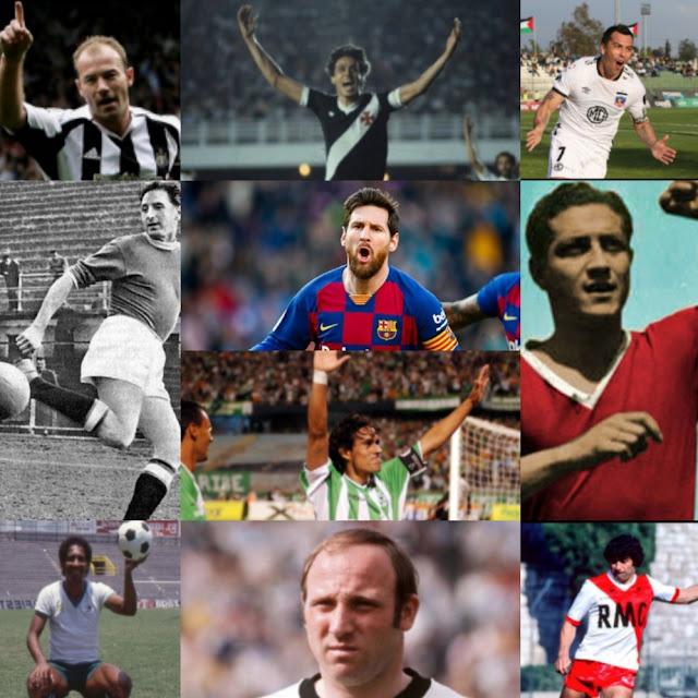 Los goleadores más letales del mundo