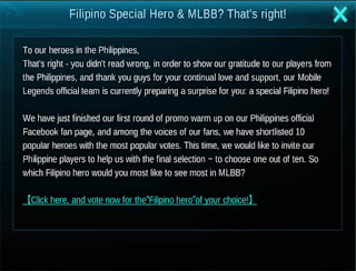 Mobile Legends Filipino Hero