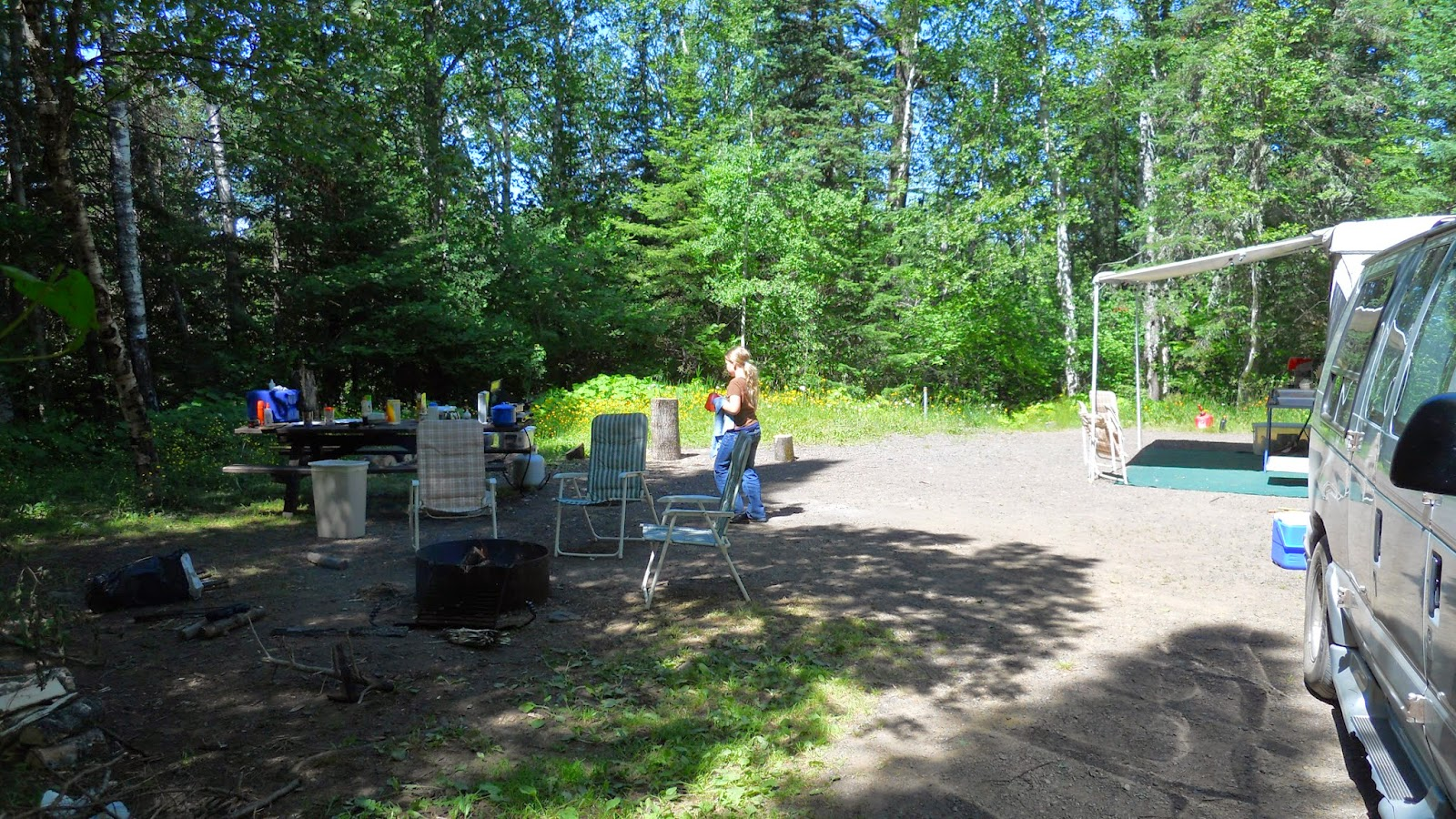 National Forest Camper: Kimball Lake Campground