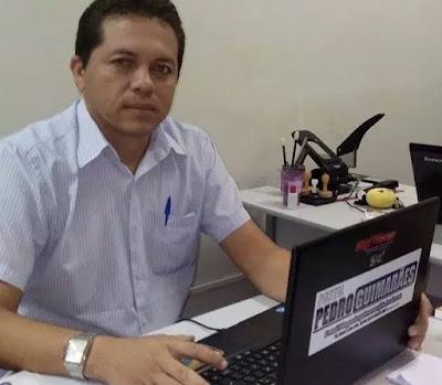 Resultado de imagem para Radialista Pedro Guimarães