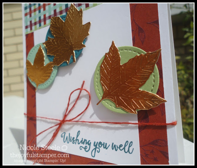 Gather Together fall card by Nicole Steele The Joyful Stamper