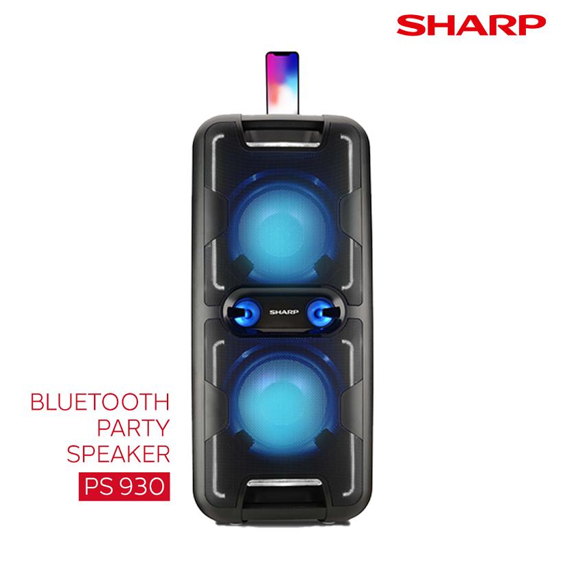 Sharp Bluetooth Party Speaker
