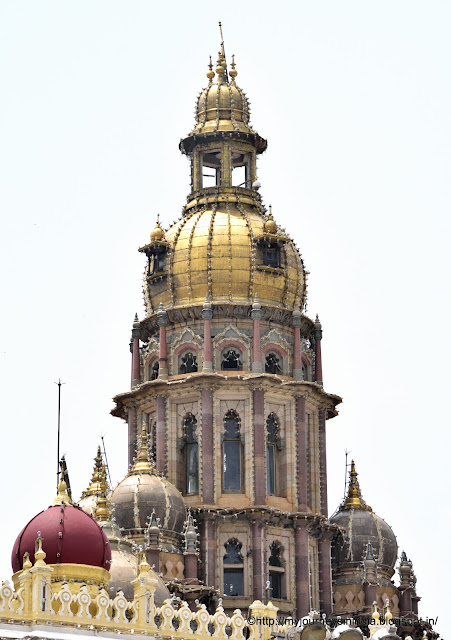 Bronze Domes at Mysore Palace