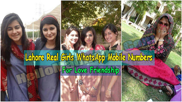 Lahore Real Girls WhatsApp Mobile Numbers For Friendship 2021