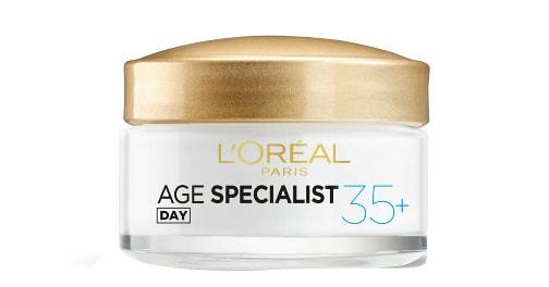Crema antirid pentru fata L'Oreal Paris Age Specialist 35+ de zi, 50 ml