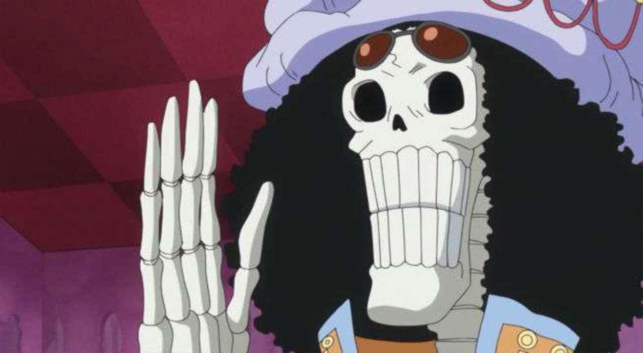 Brook Kru Bajak Laut Topi Jerami One Piece