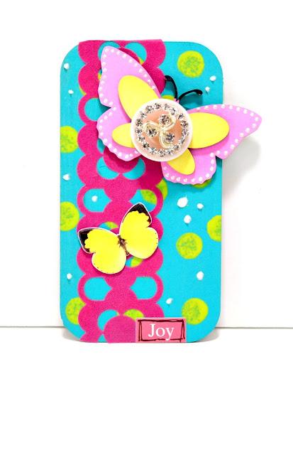 Butterfly Joy Mixed Media Board by Dana Tatar for Tando Creative