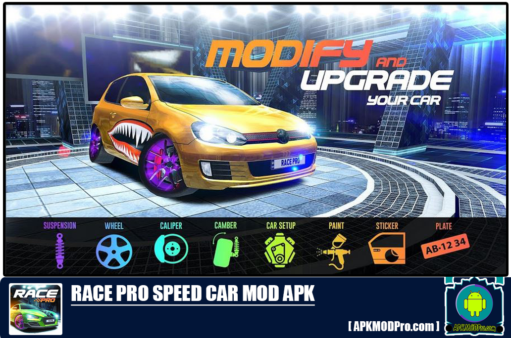 Download Race Pro: Speed Car Racer in Traffic Mod Apk [Unlimited Money]