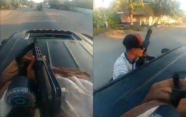 El arsenal de La Familia Michoacana para enfrentar al CJNG