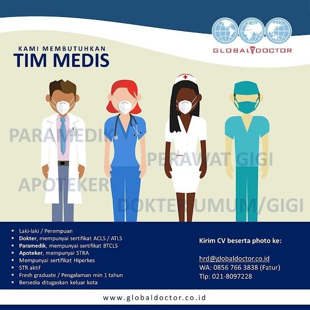 Loker Dokter Umum Global Doctor