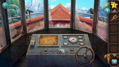 в рубке катера все готово к началу путешествия и покинуть пещеры