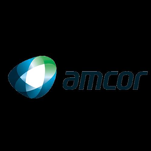 Logo AMCOR - Auspiciador III Congreso Internacional de la Industria Plástica, Lima, Perú, abril 2020