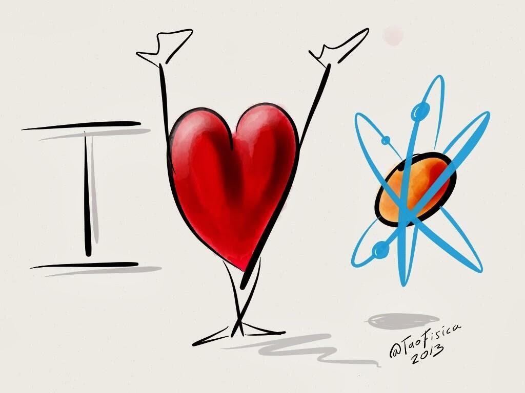 El Tao De La Física: Dibujo: Yo Amo A La Ciencia Y Un