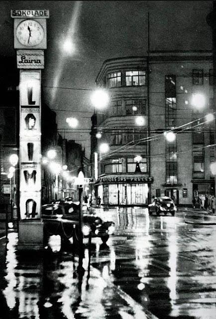 1960 год. Rīga pusnakts stundā («Dzintarzeme Latvija». Latvijas Valsts izdevniecība. Rīgā)