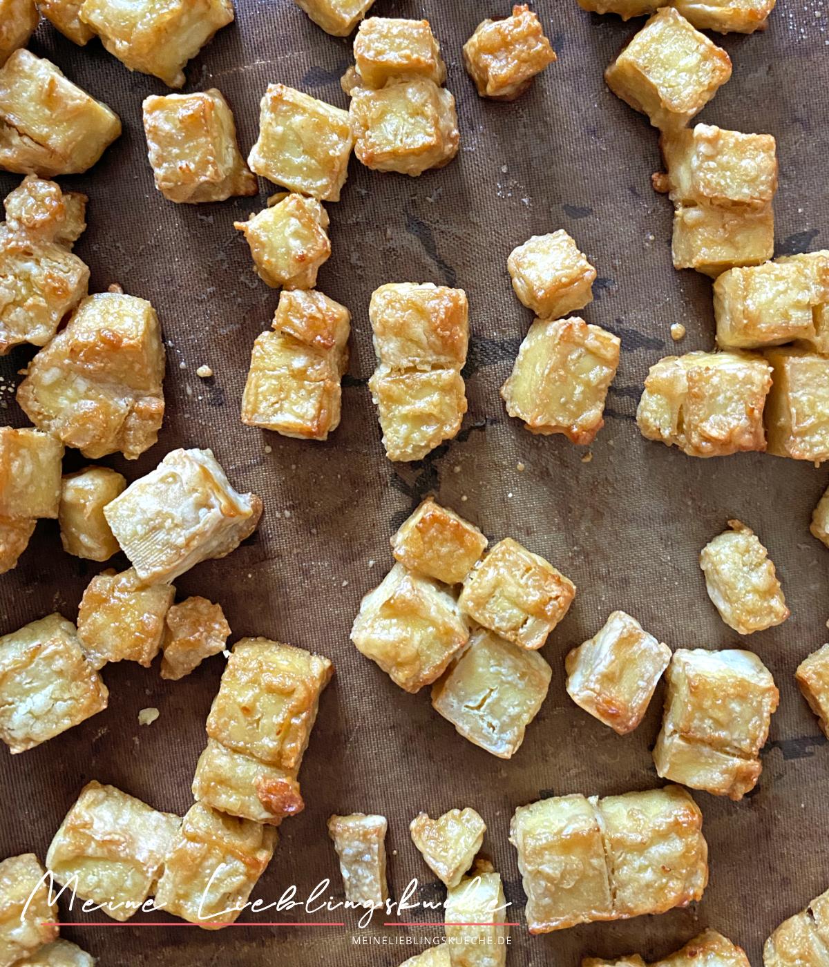 knuspriges Tofu