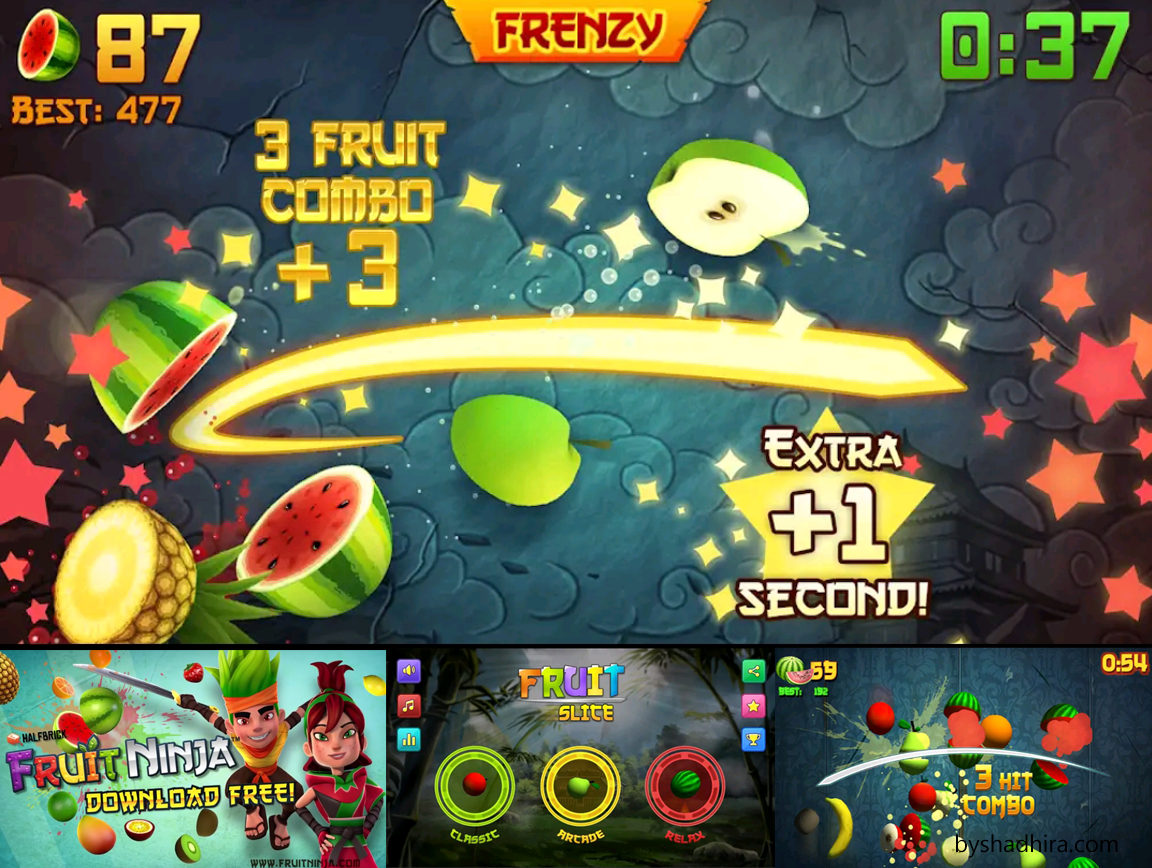 fruit slice ninja game