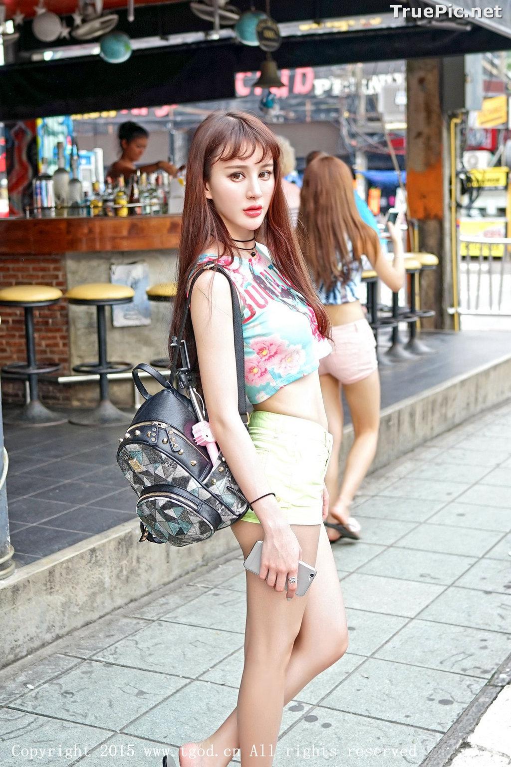 Image TGOD 2015-12-03 - Chinese Model - Cheryl (青树) - TruePic.net - Picture-3