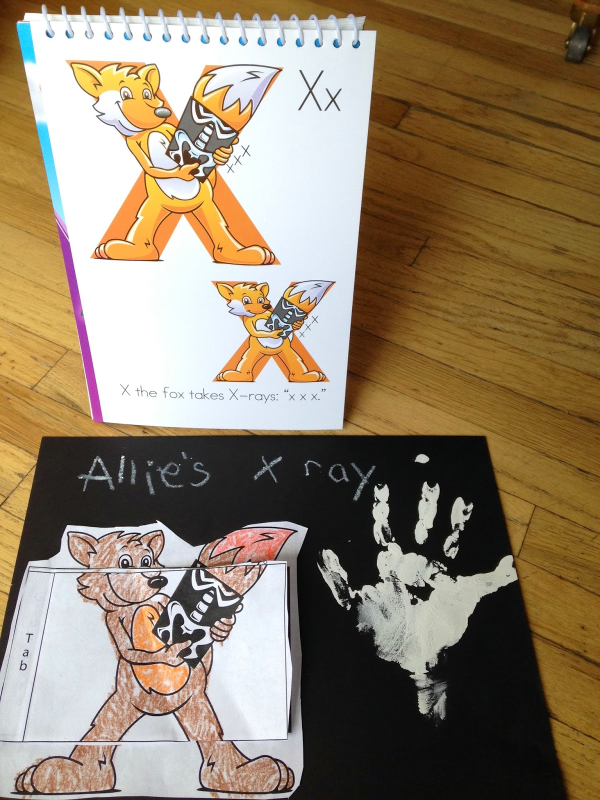 Amazing Action Alphabet Exploring Letter X With Career Day And The Human Body