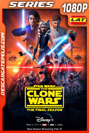 Star Wars: The Clone Wars (2020) 1080p WEB-DL Latino – Ingles