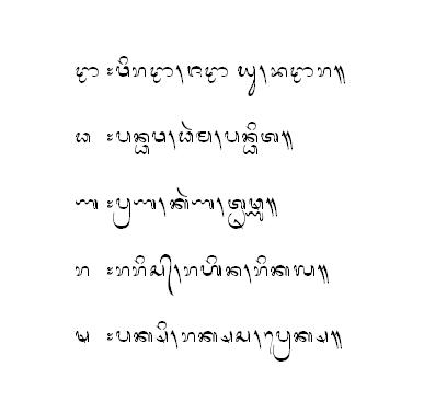Sa = ] (sa saga) …. Tong Kiprit Aksara Usma Lan Aksara Murdania