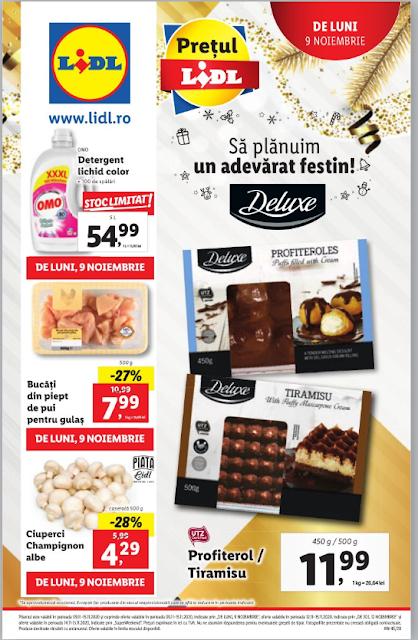 LIDL catalog brosura  9-15.11  2020