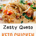 Zesty Queso Keto Chicken Soup