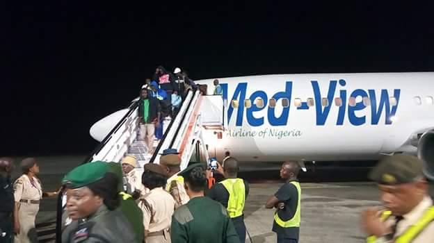 FB IMG 1518510125196 - Photos: Fifth batch of Libyan Returnees arrive in Port Harcourt
