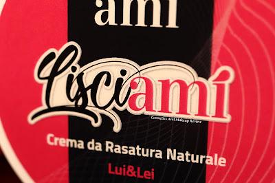 Kamelì Biocosmesi - Lisciami - Crema da rasatura naturale Lui&Lei (linea Kissami)