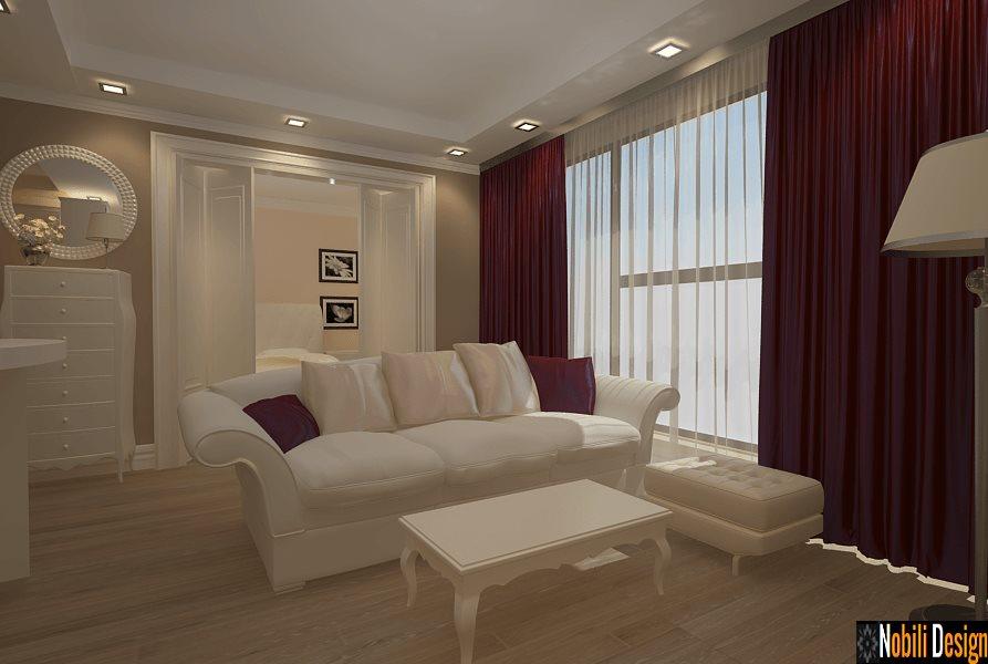 Design interior apartamente stil clasic Bucuresti