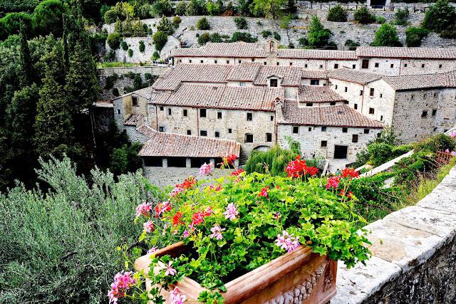 Ermita Franciscana Le Celle en Cortona, Toscana