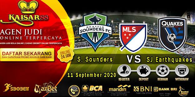 Prediksi Bola Terpercaya Liga (MLS) Seattle Sounders Vs SJ Earthquakes 11 September 2020