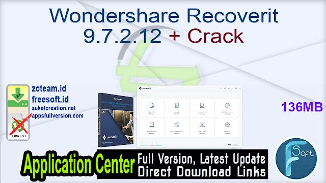 Wondershare Recoverit 9.7.2.12 + Crack_ ZcTeam.id