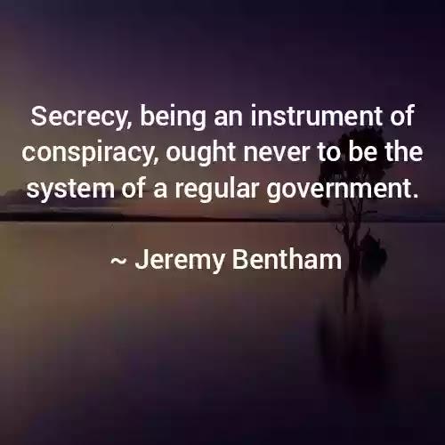 bentham quotes