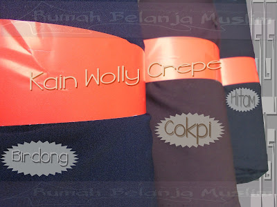 Kain Wolly Crepe