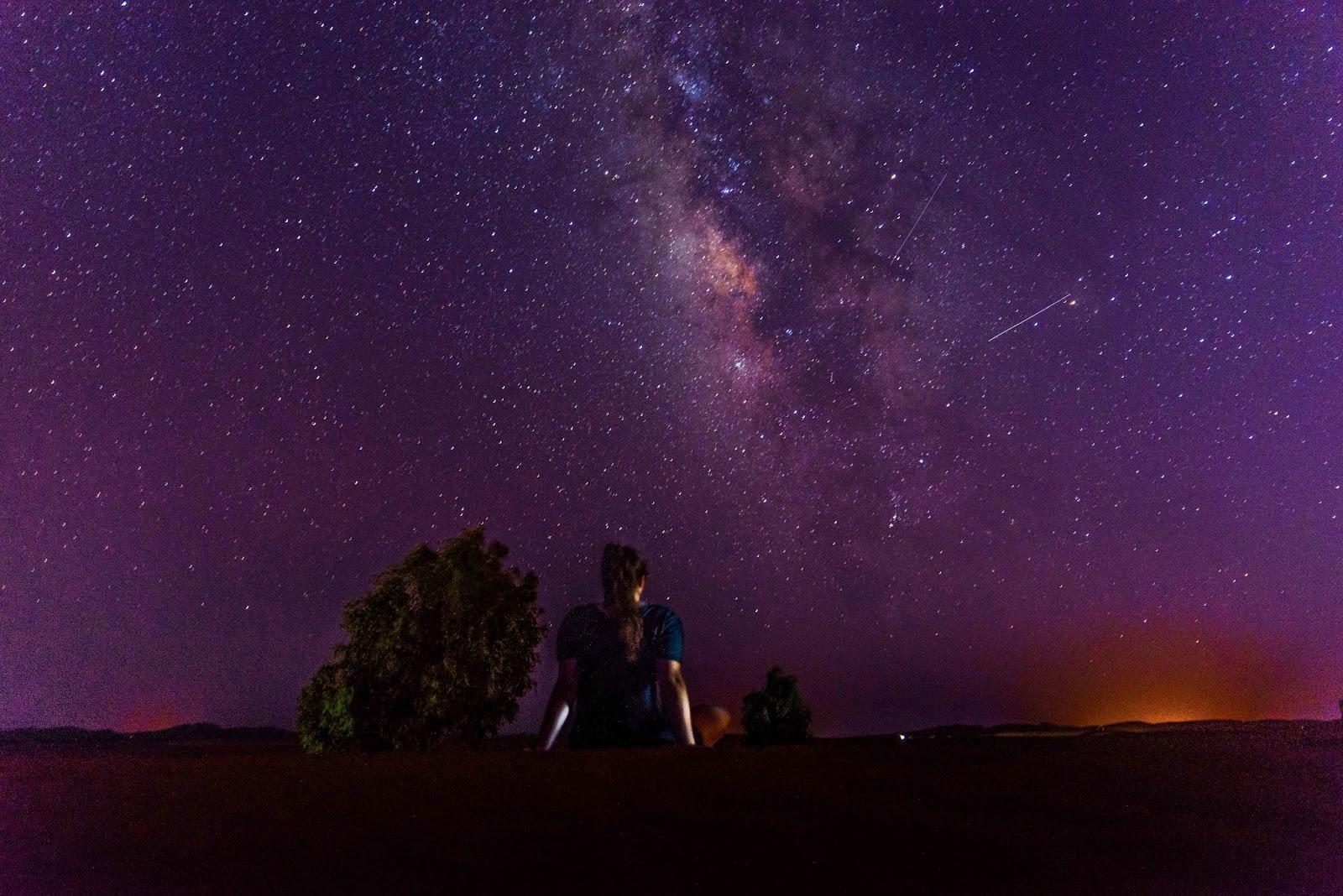 night stars timelapse sahara morocco liquidgrain liquid grain