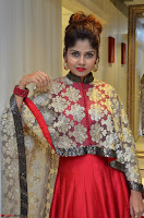 Anya South Actress model in Red Anarkali Dress at Splurge   Divalicious curtain raiser ~ Exclusive Celebrities Galleries 030.JPG