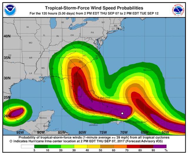5 Wind Sd Probabilities