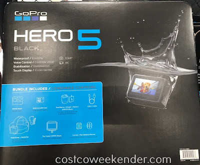 Capture all your action shots with the GoPro Hero5 Black Action Camera Bundle