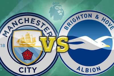 مشاهدة مباراة مانشستر سيتي ضد برايتون 13-1-2021 بث مباشر في الدوري الانجليزي