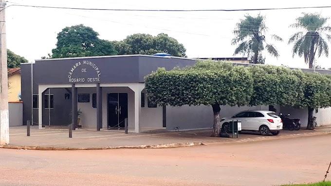 Câmara de Rosário Oeste decreta recesso administrativo